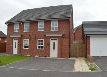 Thumbnail 3 bed semi-detached house to rent in Ravenstone Drive, St. Helens