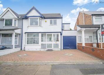 Thumbnail 4 bed semi-detached house for sale in Tetley Road, Tyseley, Birmingham