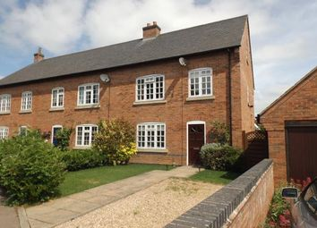 Thumbnail 3 bed end terrace house for sale in The Paddocks, Welford, Northampton, Northamptonshire