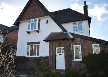 Thumbnail 4 bed detached house for sale in Greenfields Avenue, Bromborough, Wirral