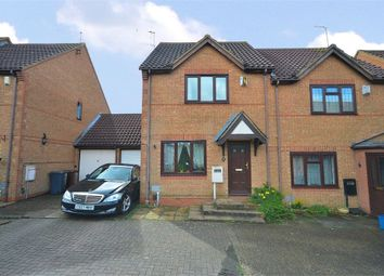 Thumbnail 3 bed semi-detached house for sale in Granary Road, East Hunsbury, Northampton