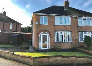 Thumbnail 3 bed semi-detached house for sale in Chislehurst Avenue, Braunstone, Leicester