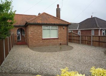 Thumbnail 2 bed bungalow to rent in Cannerby Lane, Sprowston, Norwich