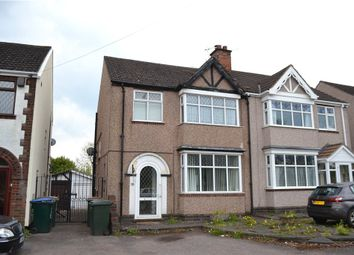 Thumbnail 3 bed semi-detached house for sale in Ansty Road, Stoke, Coventry, West Midlands
