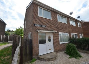 Thumbnail 3 bed semi-detached house to rent in Hornbeam Green, Pontefract