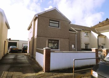 Thumbnail 4 bed semi-detached house for sale in Trefelin Crescent, Port Talbot, West Glamorgan.