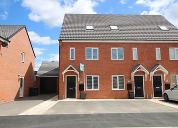 Thumbnail 3 bedroom town house to rent in Upton Drive, Stretton, Burton-On-Trent, Staffordshire