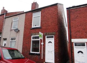 Thumbnail 2 bed end terrace house to rent in Nelson Street, Chesterfield