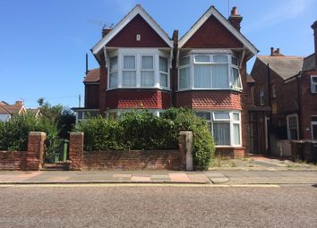 Thumbnail 4 bed semi-detached house to rent in Cavendish Avenue, Eastbourne