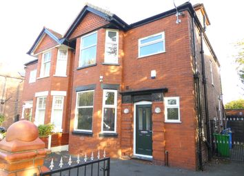 Thumbnail 5 bed semi-detached house to rent in Wellington Road, Fallowfield, Manchester