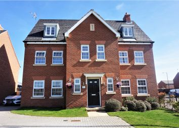 Thumbnail 6 bed detached house for sale in Carroll Drive, Warwick
