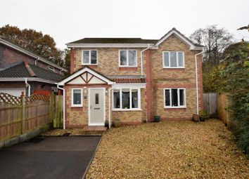 Thumbnail 4 bed detached house for sale in Cae Garw, Pontypridd