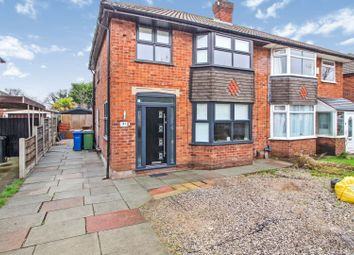 Thumbnail 3 bed semi-detached house for sale in Queensway, Heald Green