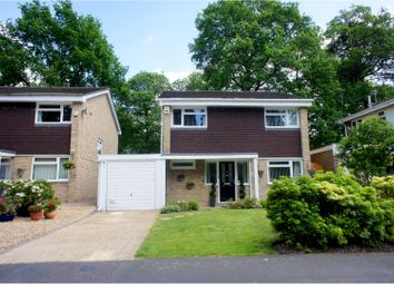Thumbnail 4 bed detached house for sale in Wensleydale Drive, Camberley