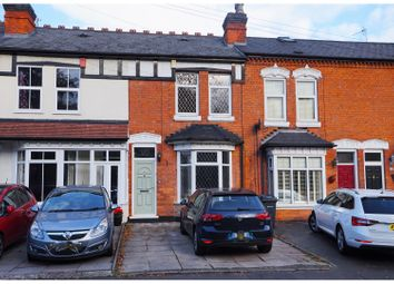 Thumbnail 3 bed terraced house for sale in Chester Road, Sutton Coldfield