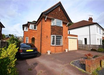 Thumbnail 3 bed detached house for sale in Edward Avenue, Camberley, Surrey