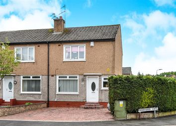 Thumbnail 2 bed end terrace house for sale in Fauldswood Crescent, Paisley