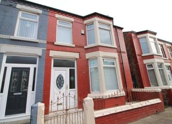 Thumbnail 3 bed property to rent in Tynville Road, Liverpool, Merseyside