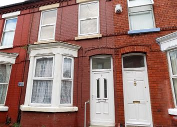 Thumbnail 3 bedroom terraced house to rent in Alwyn Street, Aigburth, Liverpool