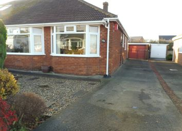 Thumbnail 2 bed semi-detached bungalow for sale in Cradley Drive, Middlesbrough