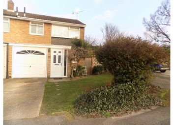 Thumbnail 3 bed semi-detached house for sale in Caldew Avenue, Gillingham