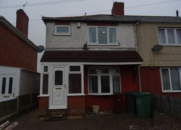 Thumbnail 3 bedroom semi-detached house to rent in Wordsworth Road, Wolverhampton