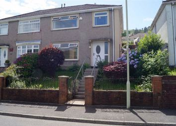 Thumbnail 3 bed semi-detached house for sale in Brynifor, Mountain Ash