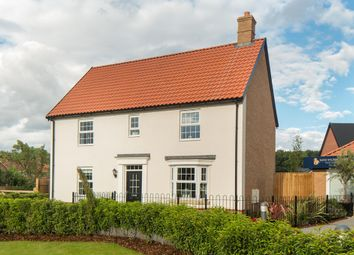 "Thumbnail 4 bed detached house for sale in ""Layton"" at Caistor Lane, Poringland, Norwich"