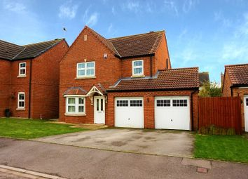 Thumbnail 4 bed detached house for sale in Field Road, Scunthorpe