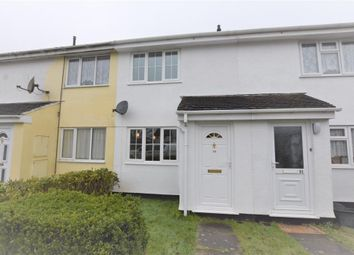 Thumbnail 2 bed terraced house to rent in Lynher Way, Callington, Cornwall