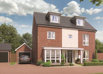 Thumbnail 5 bedroom detached house for sale in Broadmere Road, Beggarwood, Basingstoke
