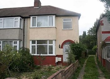 Thumbnail 3 bed end terrace house to rent in Hurley Road, Greenford, Middlesex