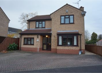 Thumbnail 4 bed detached house for sale in Churchfield Way, Wisbech St Mary