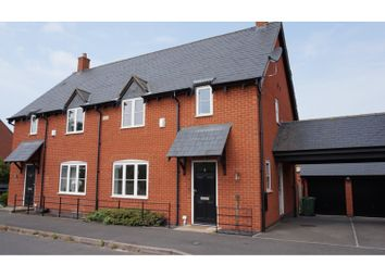 Thumbnail 3 bed semi-detached house for sale in Armitage Drive, Rothley