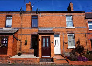 Thumbnail 2 bed terraced house for sale in Church Street, Wrexham