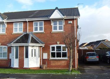 Thumbnail 3 bed semi-detached house for sale in The Parklands, Catterall, Preston