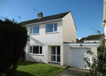 Thumbnail 3 bed property to rent in Dennison Avenue, Boscoppa, St. Austell