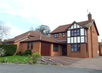 Thumbnail 4 bedroom detached house for sale in Netherwood Court, Allestree, Derby