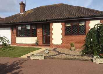 Thumbnail 3 bed detached bungalow for sale in Lancaster Rise, Mundesley, Norwich