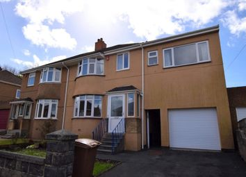 Thumbnail 4 bed semi-detached house for sale in Caernarvon Gardens, Plymouth, Devon