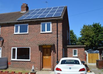 Thumbnail 3 bed semi-detached house for sale in Manor Drive, Featherstone, Pontefract