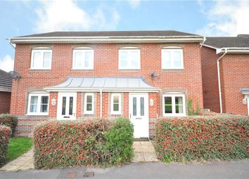 Thumbnail 2 bed semi-detached house for sale in Burghfield Walk, Basingstoke, Hampshire