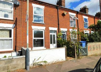 Thumbnail 2 bed terraced house to rent in Wolfe Road, Norwich