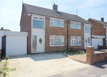 Thumbnail 3 bed semi-detached house for sale in Walgrave Road, Dunstable