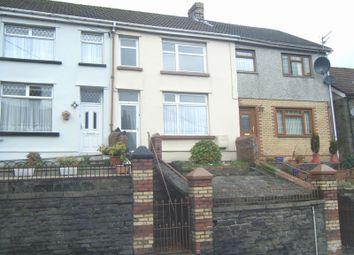 Thumbnail 3 bed terraced house for sale in Church Terrace, Penrhiwfer, Rhondda Cynon Taff.