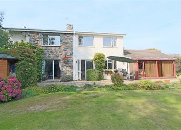 Thumbnail 4 bed detached house for sale in Cartref, Hubits De Bas, St Martin's
