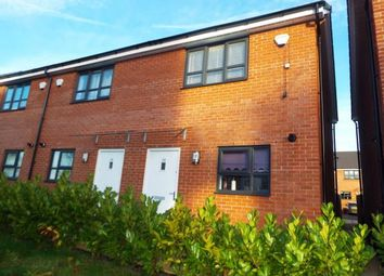 Thumbnail 2 bedroom end terrace house for sale in Bugle Close, Salford, Greater Manchester