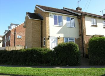 Thumbnail 3 bedroom end terrace house for sale in Birdbush Avenue, Saffron Walden