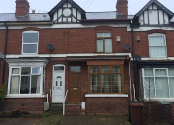 Thumbnail 3 bedroom terraced house to rent in The Crescent, Walsall, West Midlands