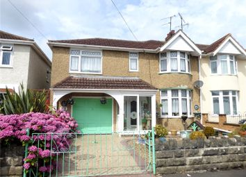 Thumbnail 3 bed semi-detached house for sale in Tiverton Road, Gorse Hill, Swindon